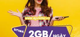 Đăng ký gói ST10K Viettel có ngay 2GB dùng thả ga cả ngày chỉ 10K