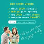 Cách đăng ký gói V200C Viettel miễn phí combo 60GB, gọi thoại và nhiều tiện ích khác