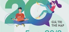 Viettel khuyến mãi 20/8/2020 NGÀY VÀNG nạp thẻ tặng 20% giá trị nạp