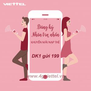 Cách đăng ký nhận tin nhắn khuyến mãi nạp thẻ Viettel sớm nhất từ nhà mạng