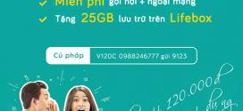 Đăng ký gói V120C Viettel nhận 30GB data, gọi thoại + dùng Tiktok thả ga