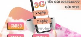 Cách đăng ký gói cước 3G Viettel 3 ngày, 7 ngày giá rẻ chỉ từ 15k