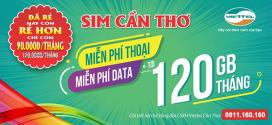 Mua sim Cần Thơ Viettel ưu đãi 120GB + TRIỆU phút gọi thoại chỉ 90k/tháng