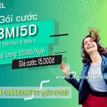 Cách đăng ký gói 3MI5D Viettel nhận ngay 1500MB chỉ với 15k/3 ngày