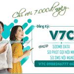 Cách đăng ký gói V7C Viettel nhận ưu đãi combo 3 trong 1 chỉ 7k/ngày