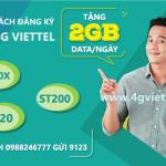 Hướng dẫn cách đăng ký gói cước 4G Viettel 2GB/ngày giá rẻ