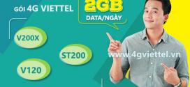Cách đăng ký gói cước 4G Viettel 2GB/ngày giá rẻ chỉ từ 4k/ngày