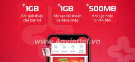 Khuyến mãi Giới thiệu My Viettel nhận ngay quà khủng đến 1GB data