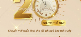 Viettel khuyến mãi 11/1/2021 NGÀY VÀNG tặng 20% giá trị tiền nạp