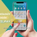 Cách xóa tài khoản ViettelPAY miễn phí thủ tục nhanh chóng