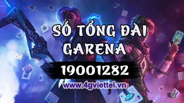 Tổng đài Garena Việt Nam số mấy