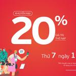 Viettel khuyến mãi 19/6/2021 ưu đãi NGÀY VÀNG tặng 20% giá trị tiền nạp