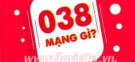 038 là mạng gì? Sim đầu số 038 có ý nghĩa gì đặc biệt?