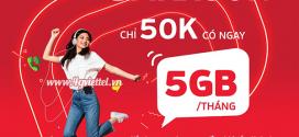Đăng ký gói UMAX50N Viettel trọn gói 5GB data chỉ 50k/tháng