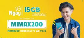 Cách đăng ký gói cước MIMAX200 Viettel ưu đãi trọn gói 22,5GB data