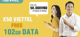 Hướng dẫn cách đăng ký 4G Viettel 50k 1 tháng 100GB